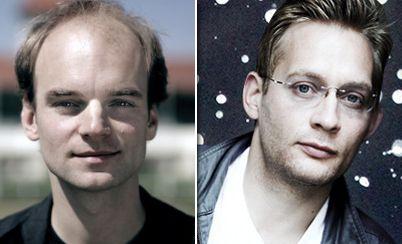 Thomas Stuber und Clemens Meyer. Foto: Academy Awards/S. Fischer Verlag.