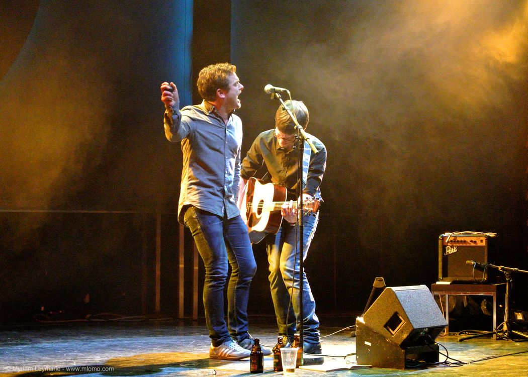 ear live im Centraltheater 2013. Foto: Myriam Leymarie / mlomo.com