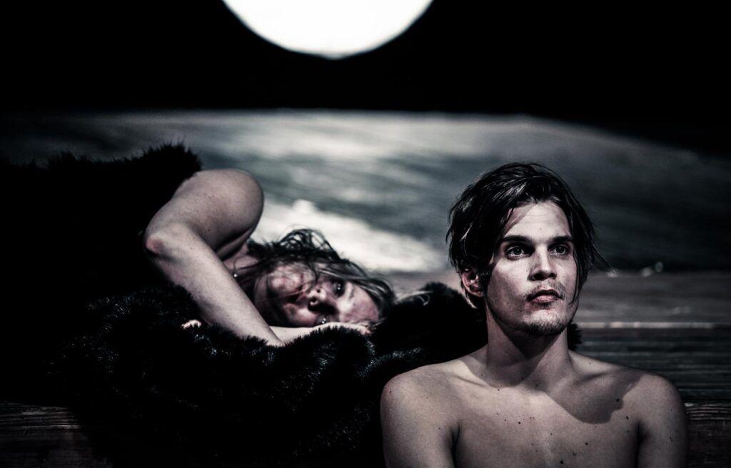Katrin Wichmann und Benjamin Liliie. Foto: Arno Declair